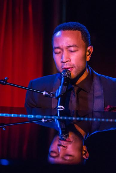John Legend at Cynthia Woods Mitchell Pavilion