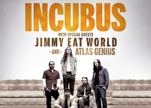 Incubus & Jimmy Eat World at Cynthia Woods Mitchell Pavilion