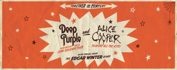 Deep Purple & Alice Cooper at Cynthia Woods Mitchell Pavilion