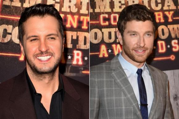 Luke Bryan & Brett Eldredge at Cynthia Woods Mitchell Pavilion