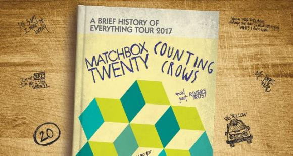 Counting Crows & Matchbox Twenty at Cynthia Woods Mitchell Pavilion