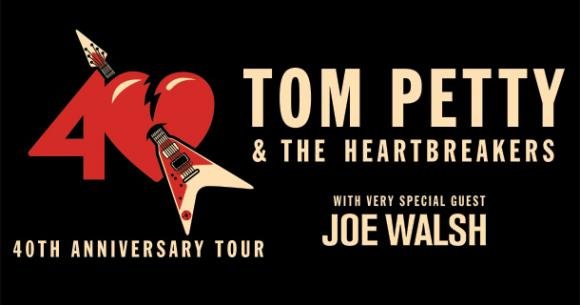 Tom Petty And The Heartbreakers & Joe Walsh at Cynthia Woods Mitchell Pavilion