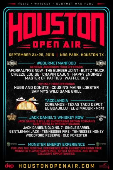 Houston Open Air - Saturday Admission at Cynthia Woods Mitchell Pavilion