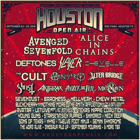 Houston Open Air - Sunday Admission at Cynthia Woods Mitchell Pavilion