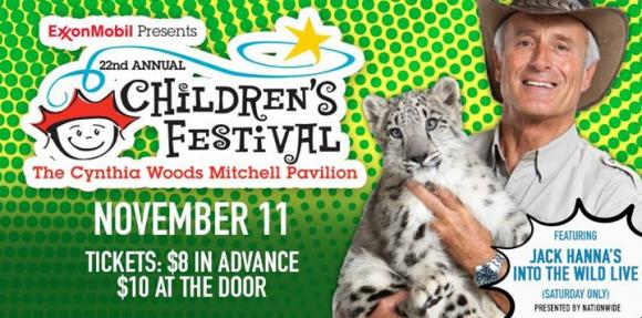 22nd Annual Children's Festival - Saturday at Cynthia Woods Mitchell Pavilion