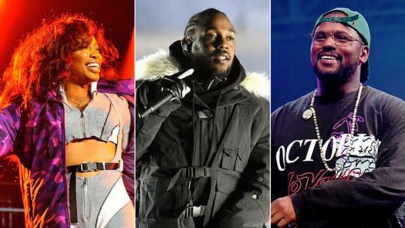 Kendrick Lamar, SZA & Schoolboy Q at Cynthia Woods Mitchell Pavilion