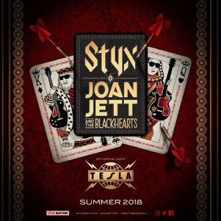 Styx, Joan Jett, The Blackhearts & Tesla at Cynthia Woods Mitchell Pavilion