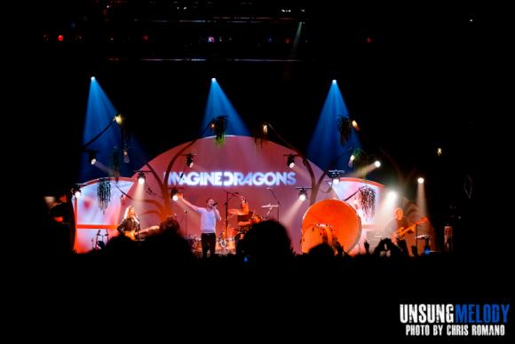Imagine Dragons at Cynthia Woods Mitchell Pavilion