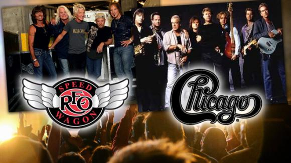 Chicago & REO Speedwagon at Cynthia Woods Mitchell Pavilion