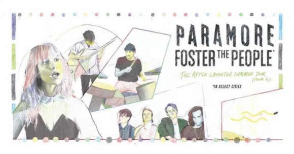 Paramore & Foster The People at Cynthia Woods Mitchell Pavilion