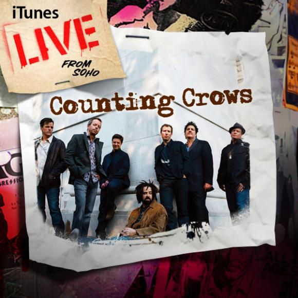 Counting Crows & Live - Band at Cynthia Woods Mitchell Pavilion