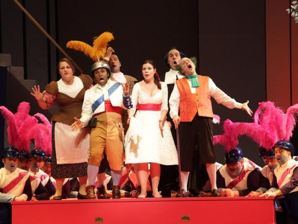 Houston Grand Opera: The Barber of Seville at Cynthia Woods Mitchell Pavilion