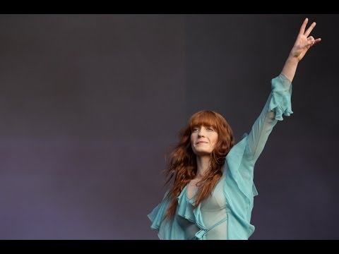 Florence and The Machine at Cynthia Woods Mitchell Pavilion