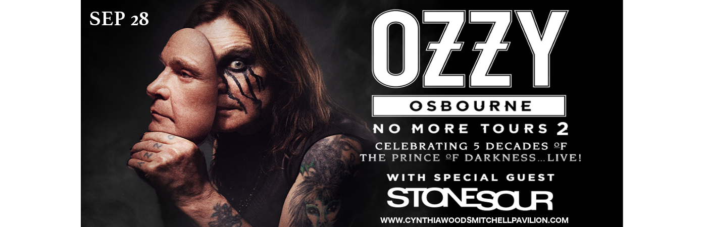 Ozzy Osbourne at Cynthia Woods Mitchell Pavilion
