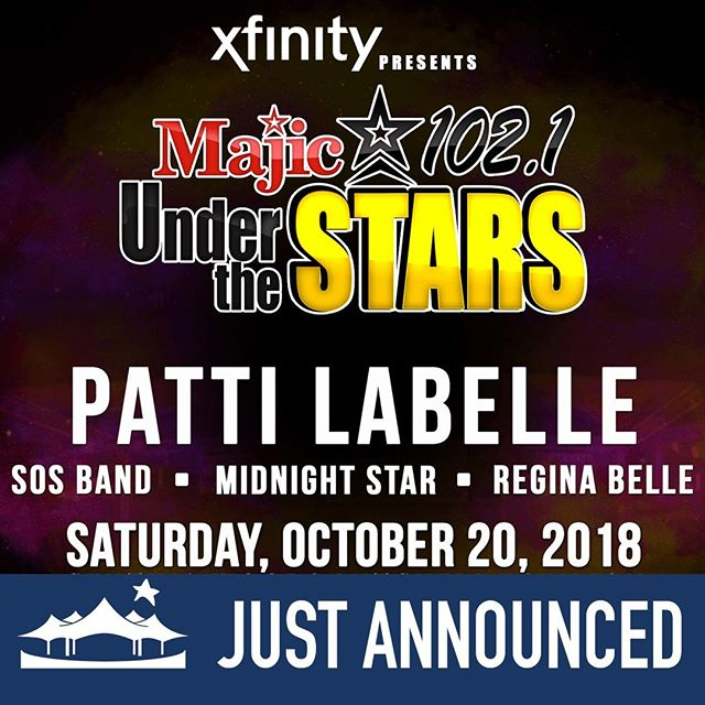 Patti LaBelle, Regina Belle, SOS Band & Midnight Star at Cynthia Woods Mitchell Pavilion