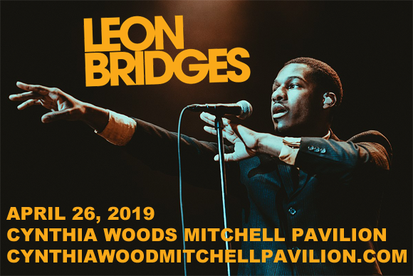 Leon Bridges at Cynthia Woods Mitchell Pavilion