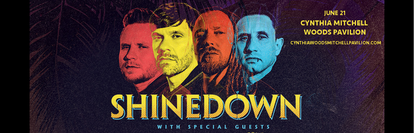 Shinedown at Cynthia Woods Mitchell Pavilion