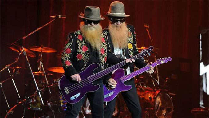ZZ Top at Cynthia Woods Mitchell Pavilion