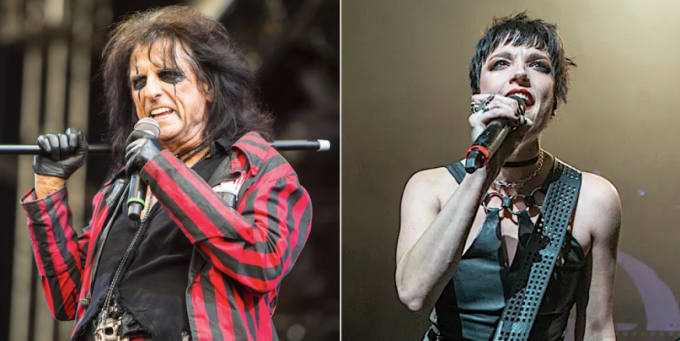 Alice Cooper & Halestorm at Cynthia Woods Mitchell Pavilion