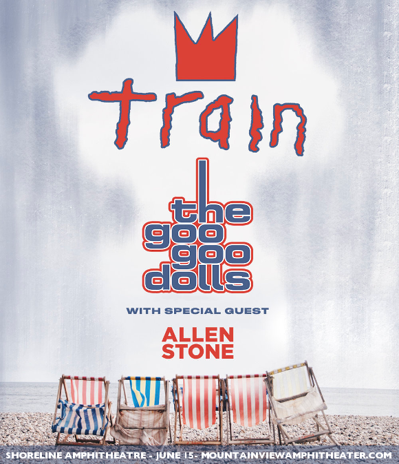 Train, Goo Goo Dolls & Allen Stone at Cynthia Woods Mitchell Pavilion