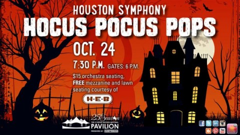 Houston Symphony: Hocus Pocus Pops at Cynthia Woods Mitchell Pavilion