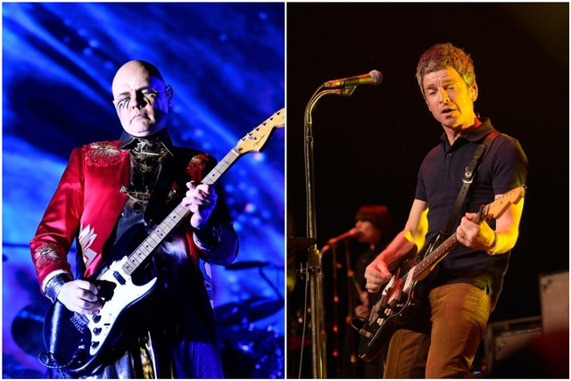 Smashing Pumpkins & Noel Gallagher's High Flying Birds at Cynthia Woods Mitchell Pavilion