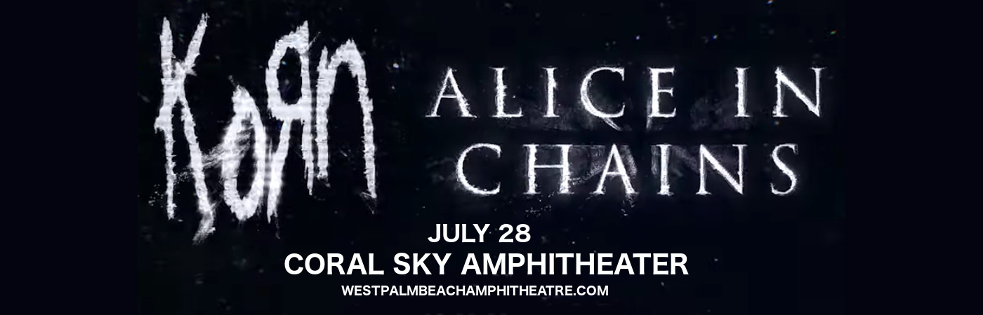 Korn & Alice In Chains at Cynthia Woods Mitchell Pavilion