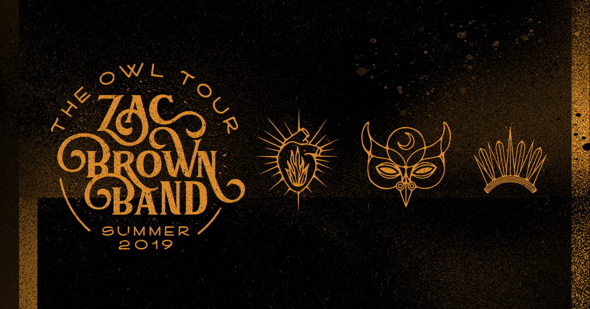 Zac Brown Band at Cynthia Woods Mitchell Pavilion