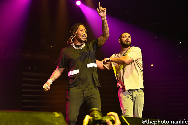 Meek Mill & Future at Cynthia Woods Mitchell Pavilion