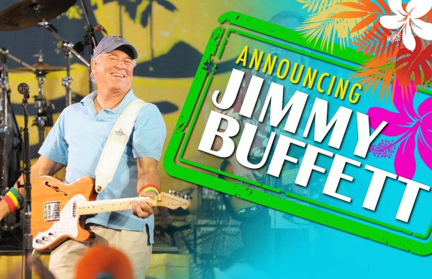 Jimmy Buffett and The Coral Reefer Band at Cynthia Woods Mitchell Pavilion