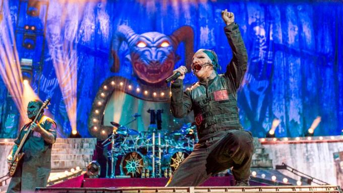 Slipknot, Volbeat, Gojira & Behemoth at Cynthia Woods Mitchell Pavilion