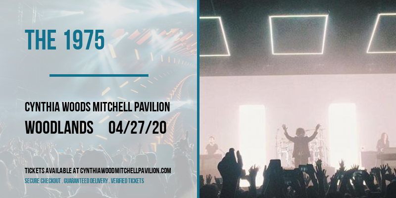 The 1975 at Cynthia Woods Mitchell Pavilion