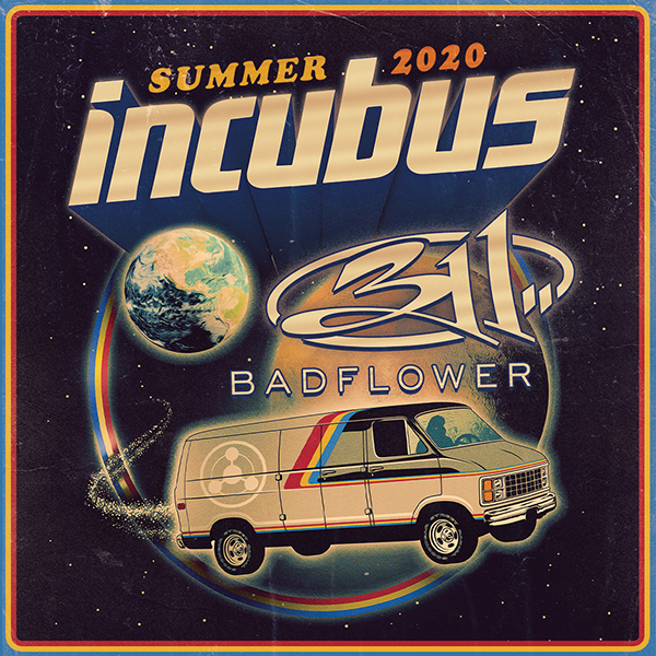 Incubus, 311 & Badflower at Cynthia Woods Mitchell Pavilion
