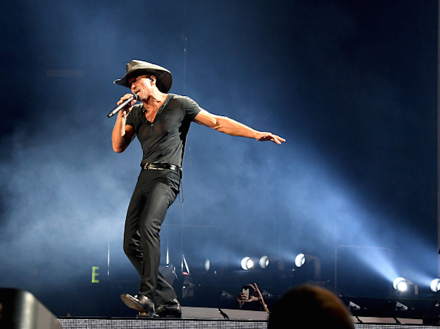 Tim McGraw at Cynthia Woods Mitchell Pavilion