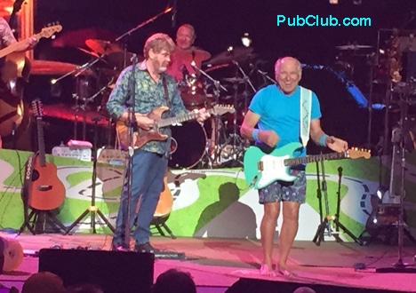 Jimmy Buffett at Cynthia Woods Mitchell Pavilion