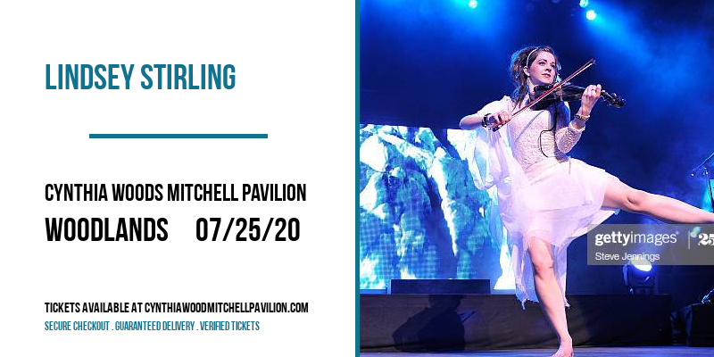Lindsey Stirling [POSTPONED] at Cynthia Woods Mitchell Pavilion