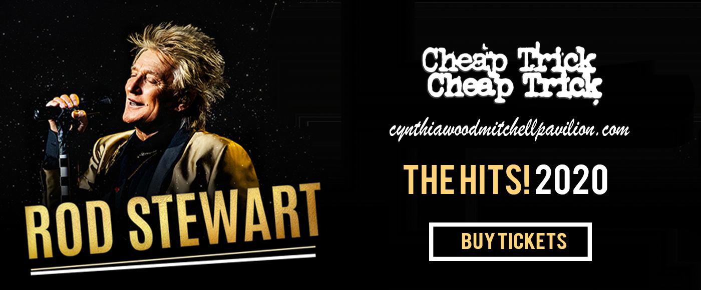 Rod Stewart & Cheap Trick at Cynthia Woods Mitchell Pavilion