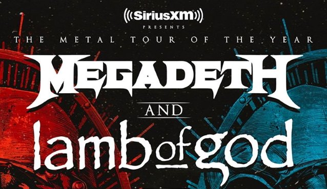 Megadeth & Lamb of God at Cynthia Woods Mitchell Pavilion