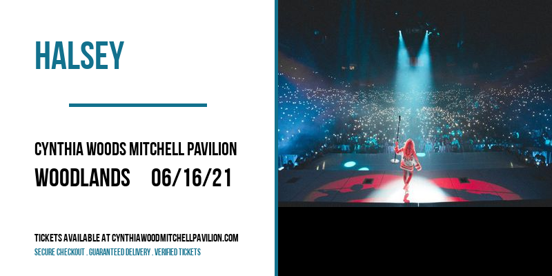 Halsey at Cynthia Woods Mitchell Pavilion