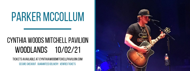 Parker McCollum at Cynthia Woods Mitchell Pavilion