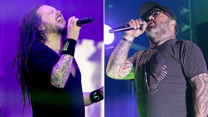 Korn & Staind at Cynthia Woods Mitchell Pavilion