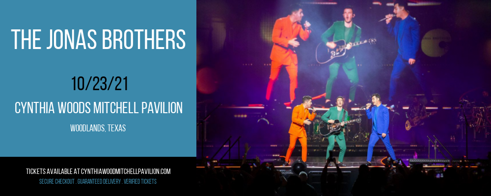 The Jonas Brothers at Cynthia Woods Mitchell Pavilion