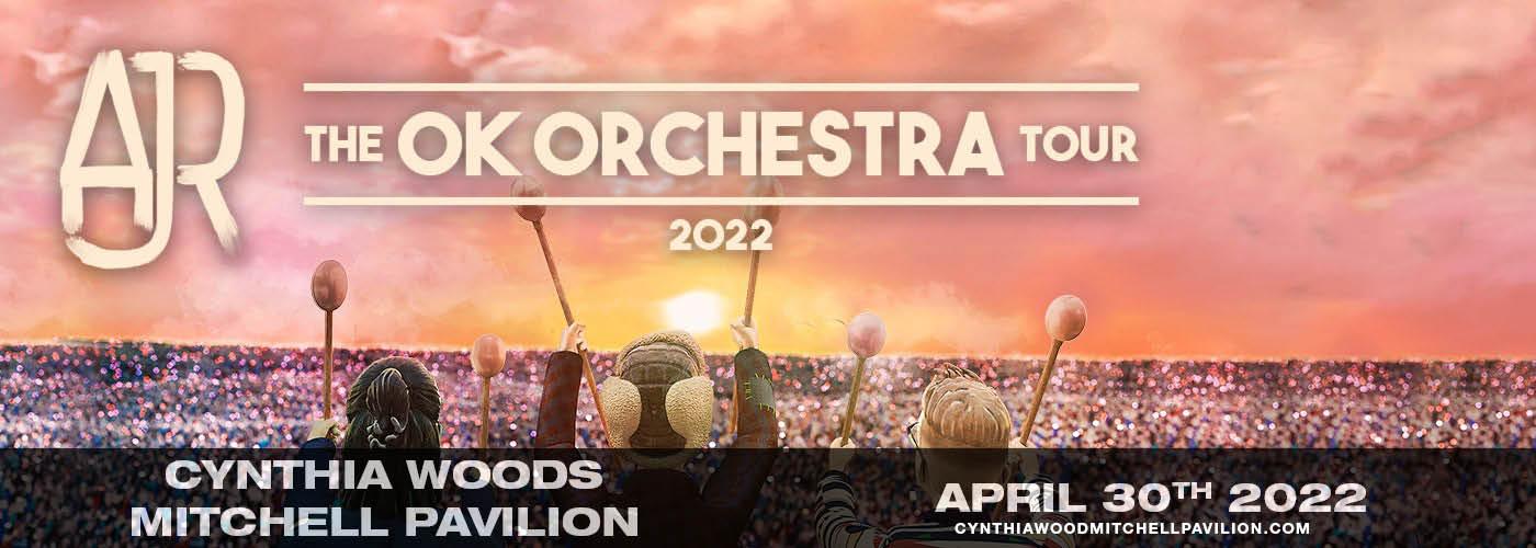 AJR: OK ORCHESTRA Tour at Cynthia Woods Mitchell Pavilion