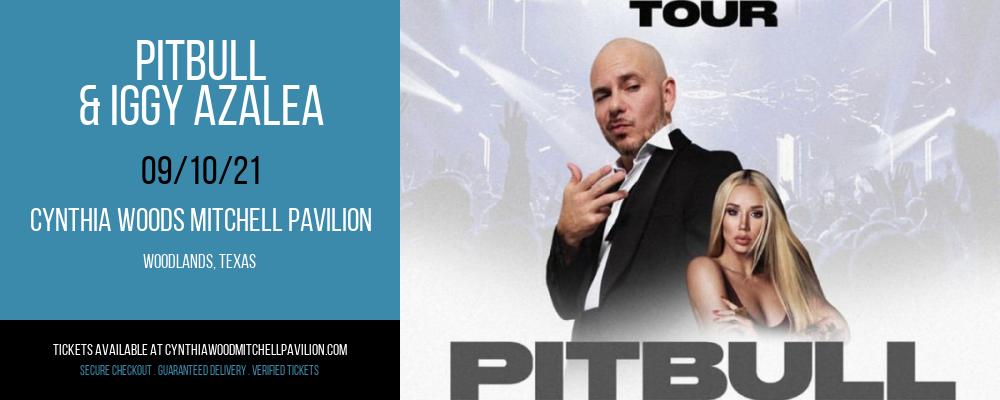 Pitbull & Iggy Azalea at Cynthia Woods Mitchell Pavilion