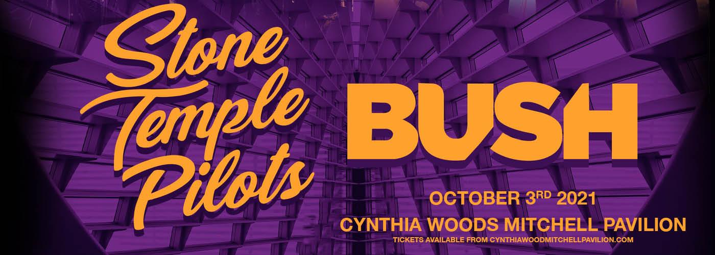 Stone Temple Pilots, Bush & Black Map [CANCELLED] at Cynthia Woods Mitchell Pavilion