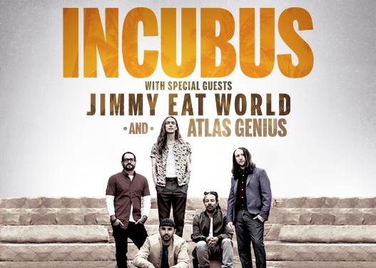 Incubus & Jimmy Eat World at Cynthia Woods Mitchell Pavilion