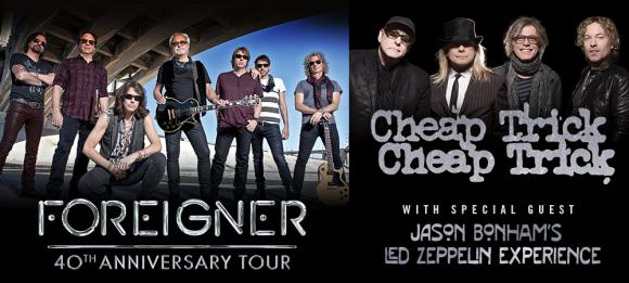 Foreigner, Cheap Trick & Jason Bonham's Led Zeppelin Experience at Cynthia Woods Mitchell Pavilion