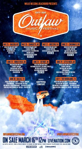 Outlaw Music Festival: Willie Nelson, Sturgill Simpson, The Head and The Heart, Ryan Bingham & Lukas Nelson and The Promise of The Real at Cynthia Woods Mitchell Pavilion
