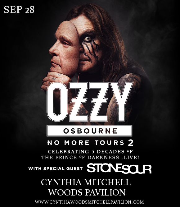 Ozzy Osbourne at Cynthia Woods Mitchell Pavilion