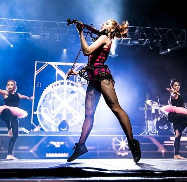Lindsey Stirling at Cynthia Woods Mitchell Pavilion